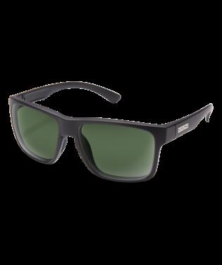 Suncloud RAMBLER MATTE BLACK POLARIZED GRAY GREEN