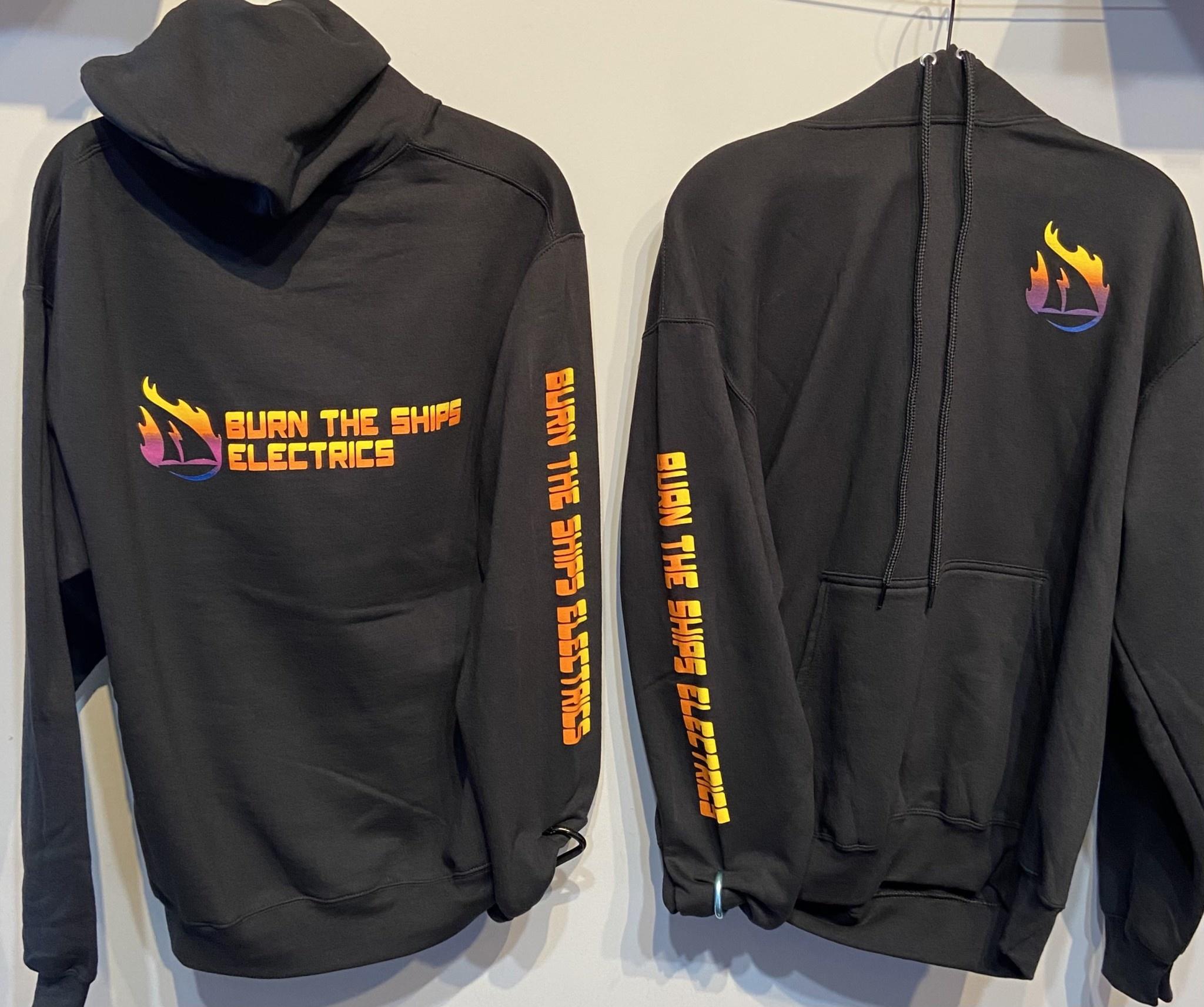 Burn The Ships Electrics BTSe Logo Pullover Hoodie