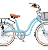 Electric Bike Company Model Y  Island Paradise W/ Fenders Suspension Slv Basket Blk Rack