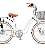Electric Bike Company Model Y White Suspension Slv Basket Rack