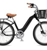Electric Bike Company Model R Black W/Rear Rack Black Front Basket