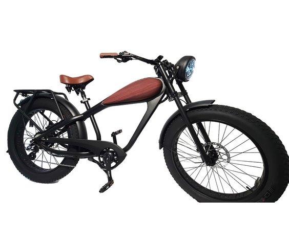 Driven Bikes Vintage 750 Wood Grain (No Rack)