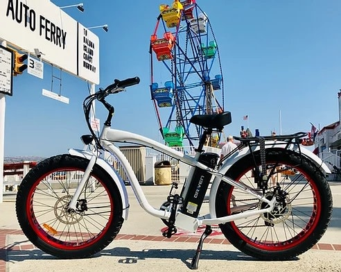 Driven Bikes Playa Express 750+ White