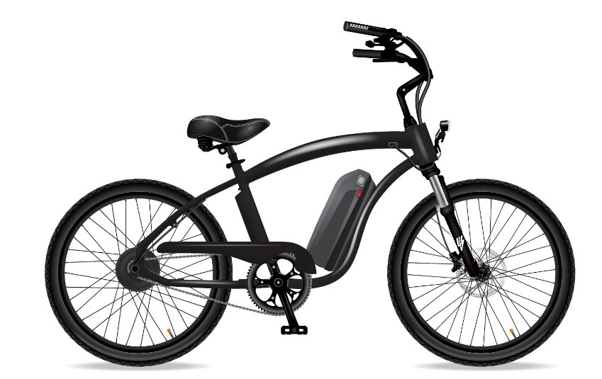 Electric Bike Company Model X Black With Front Suspension