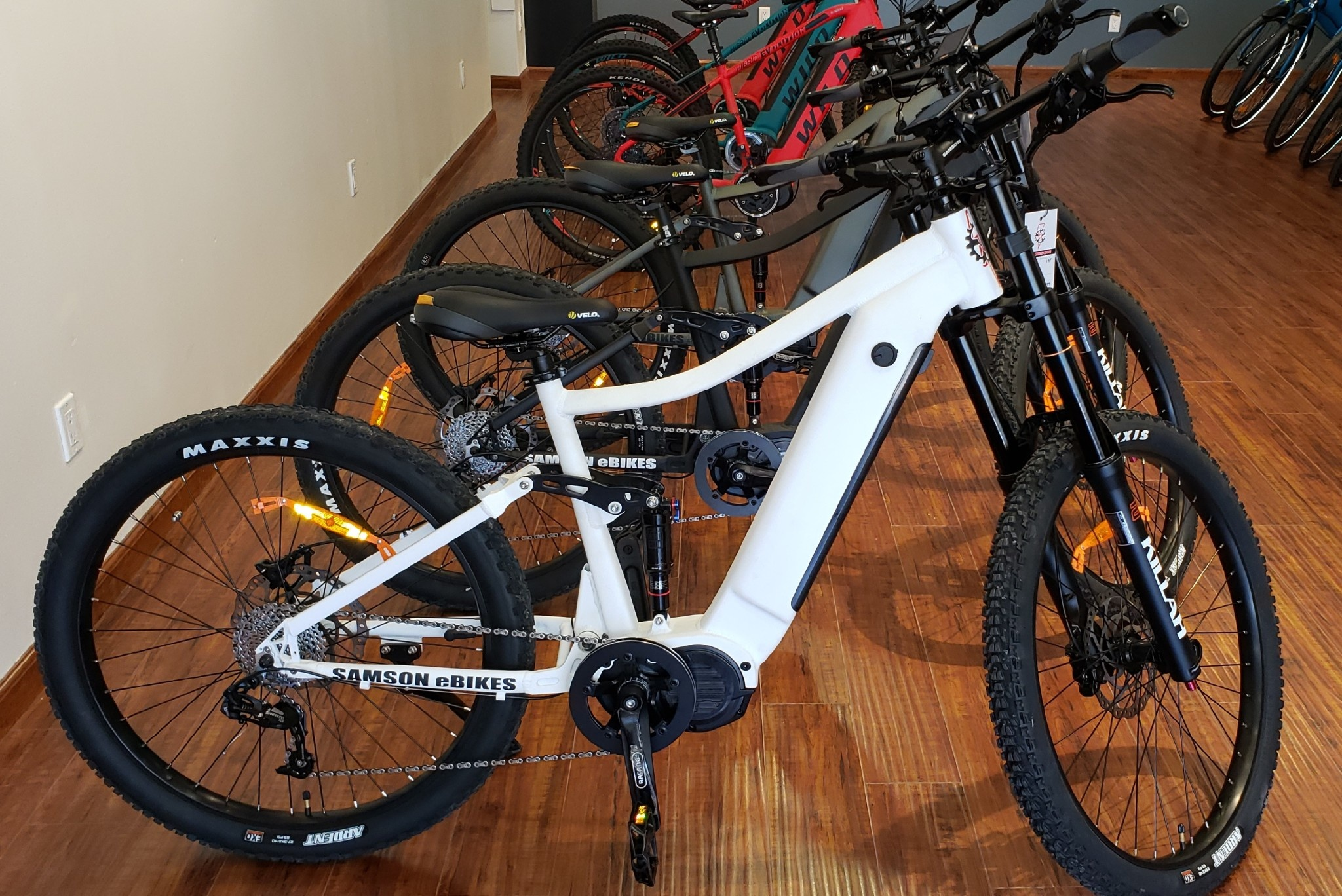Samson Electric Bikes eXTREME