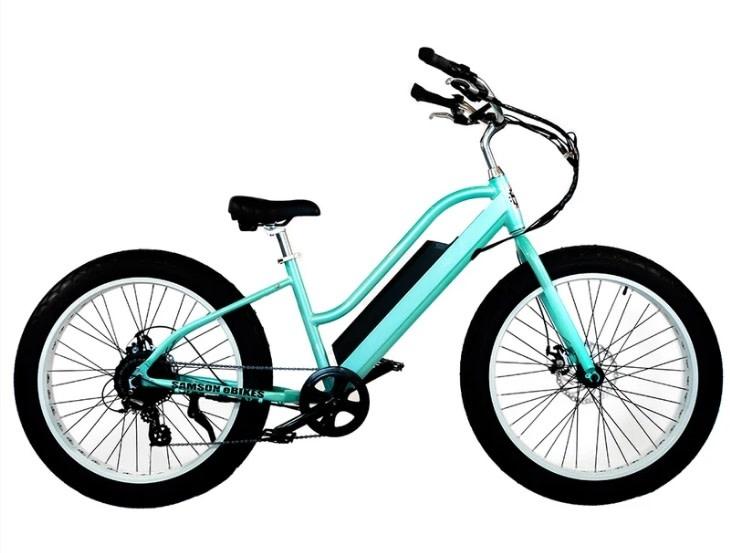 Samson Electric Bikes eCRUISER STEP THROUGH