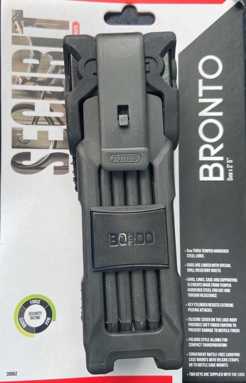 """ABUS Securit Bronto Key Lock 2'5"""" (75CM)"""