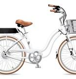 Electric Bike Company Model S White Susp Fenders Slv Basket 18Ah