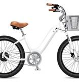 Electric Bike Company Model R White 7SP Basket Susp Seat