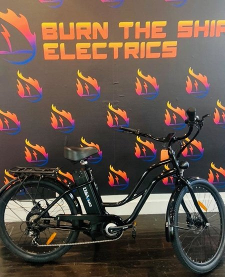 Playa 500 Step Met Black Hydraulic Brakes