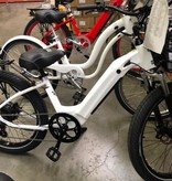 Electric Bike Company Model R White Basket Rack 7SP