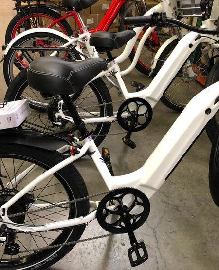 Model R White Rack Fenders 7SP