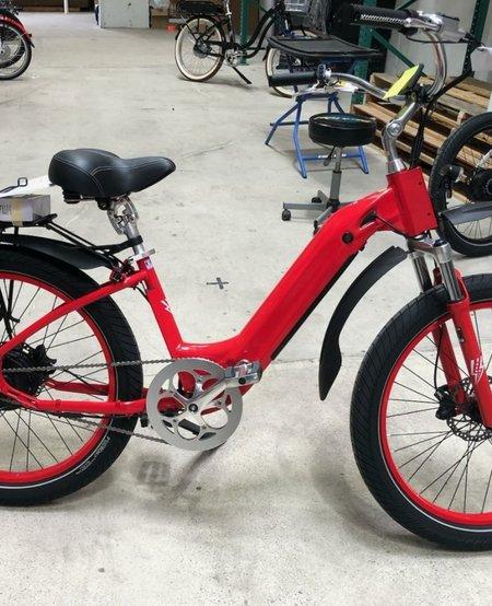 Model R Red Rack Red Rims Fenders Susp Seat