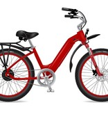 Electric Bike Company Model R Red Rack Red Rims Fenders Susp Seat
