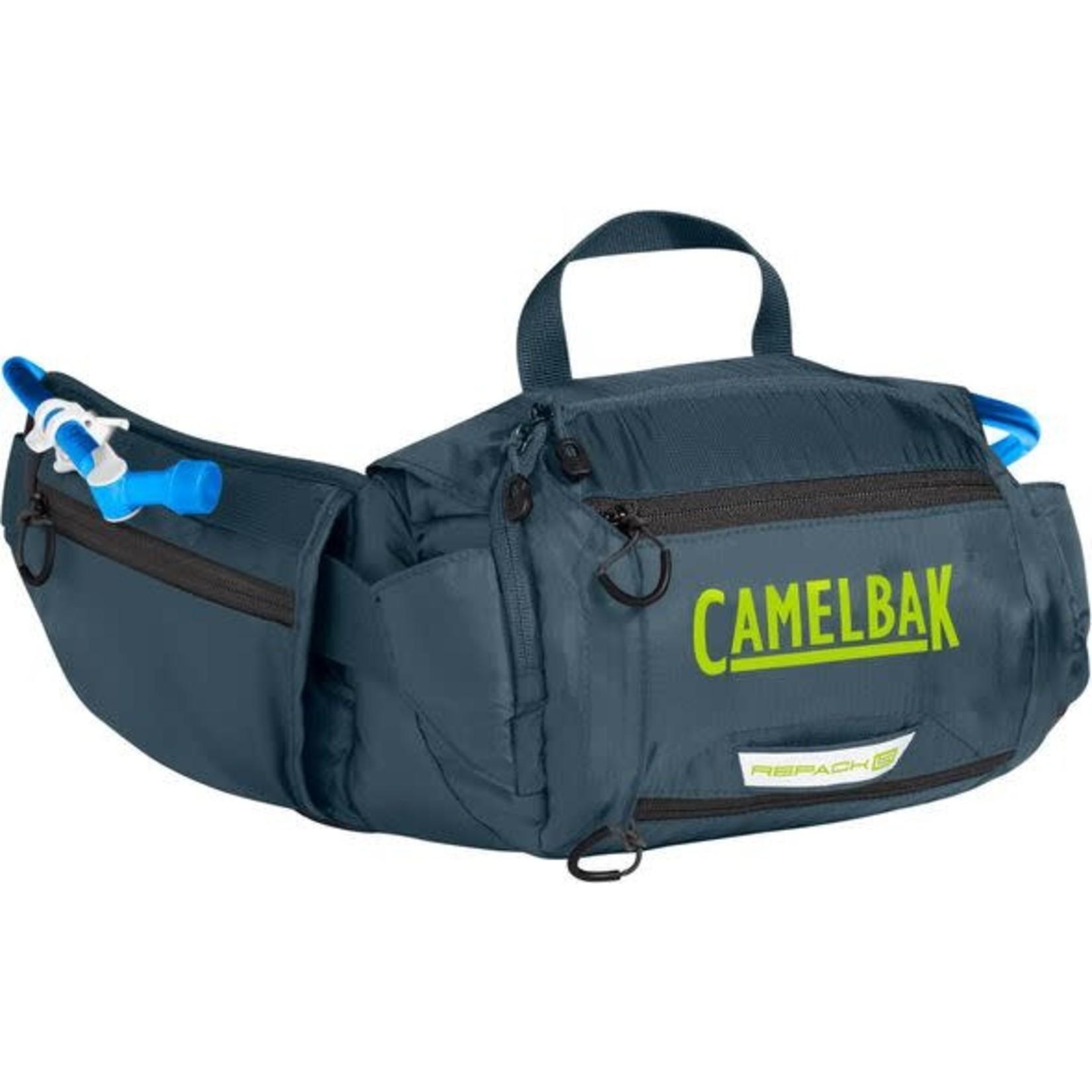 CAMELBAK Hip Pack, Repack LR 4, 50oz, Dark Slate / Lime Punch