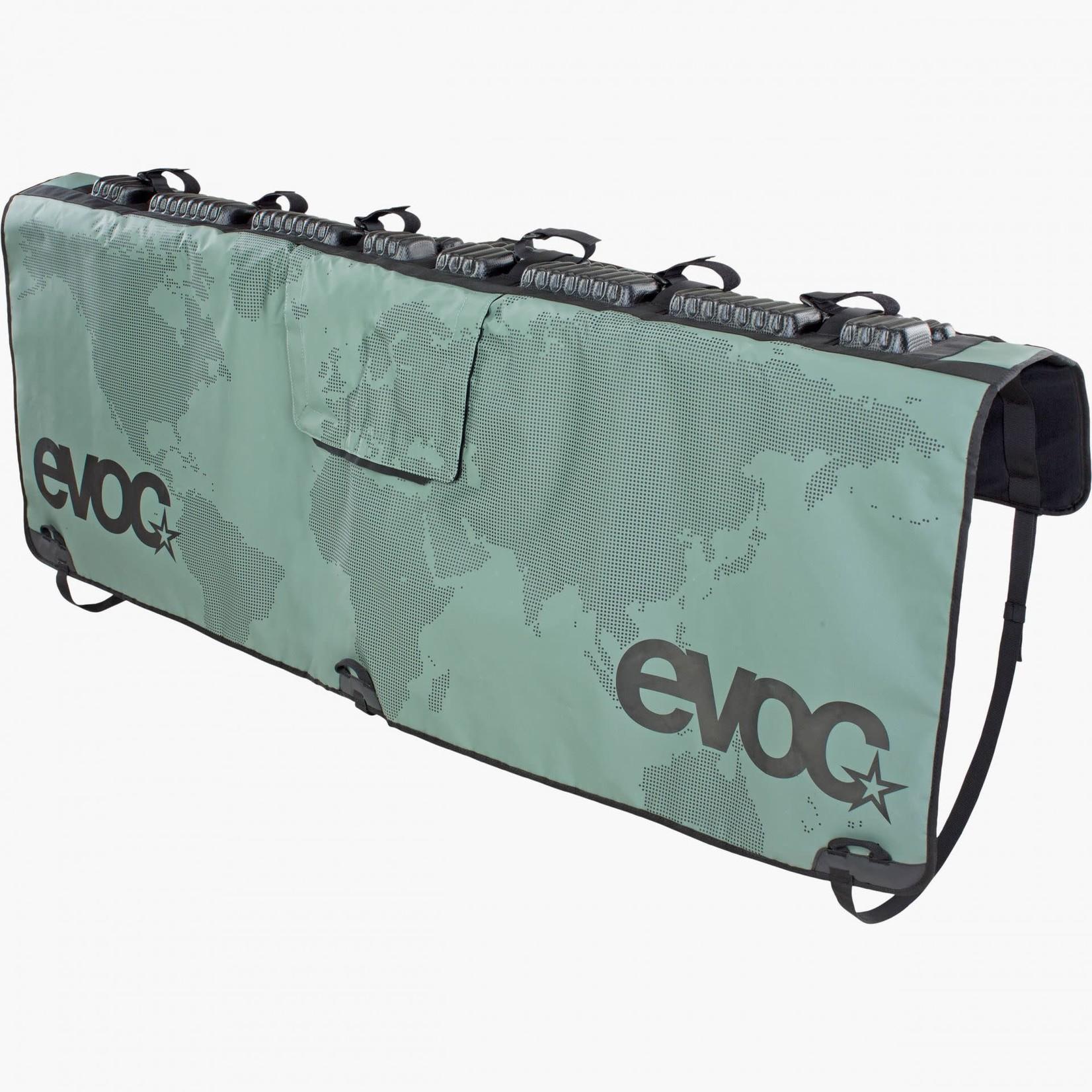 EVOC EVOC, Tailgate Pad, 136cm / 53.5'' wide, for mid-sized trucks, Olive