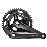 Shimano Shimano, GRX FC-RX600-10, Crankset, Speed: 10, Spindle: 24mm, BCD: 80/110, 30/46, Hollowtech II, 170mm, Black, Road Disc