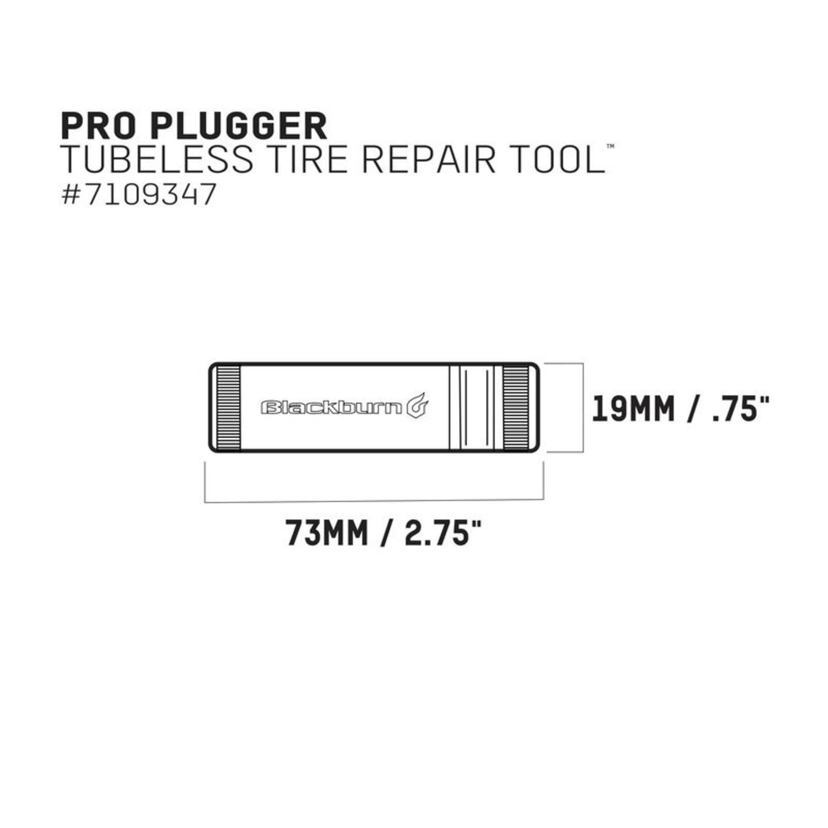 BLACKBURN Tools - PRO Plugger Tire Repair