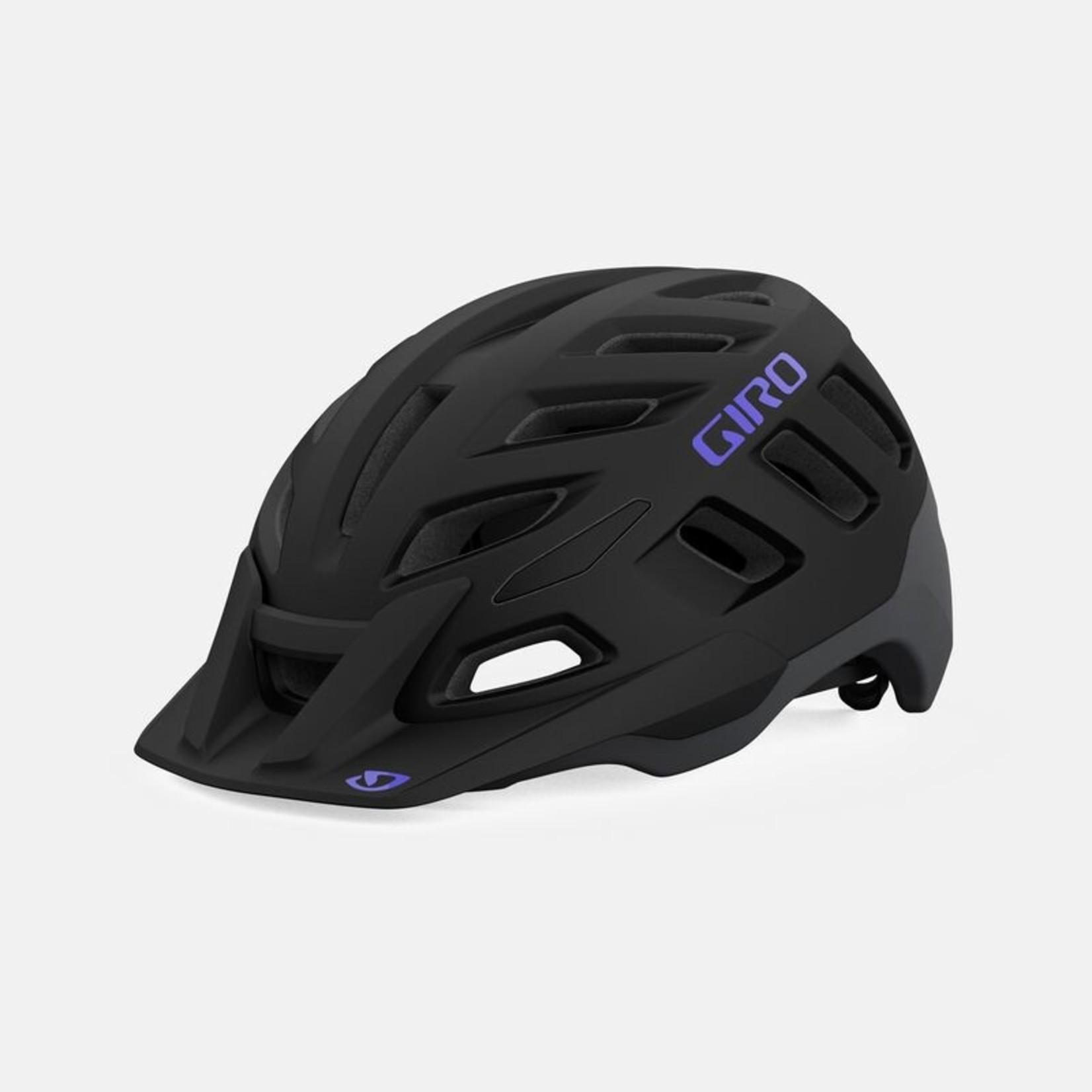 Giro Giro, Radix Mips, Mat Black/Electric Purple, Small
