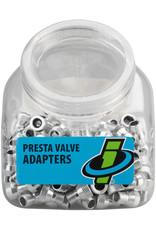 Innovations Pump INN Presta Valve Adapters Alloy Tub 150 single