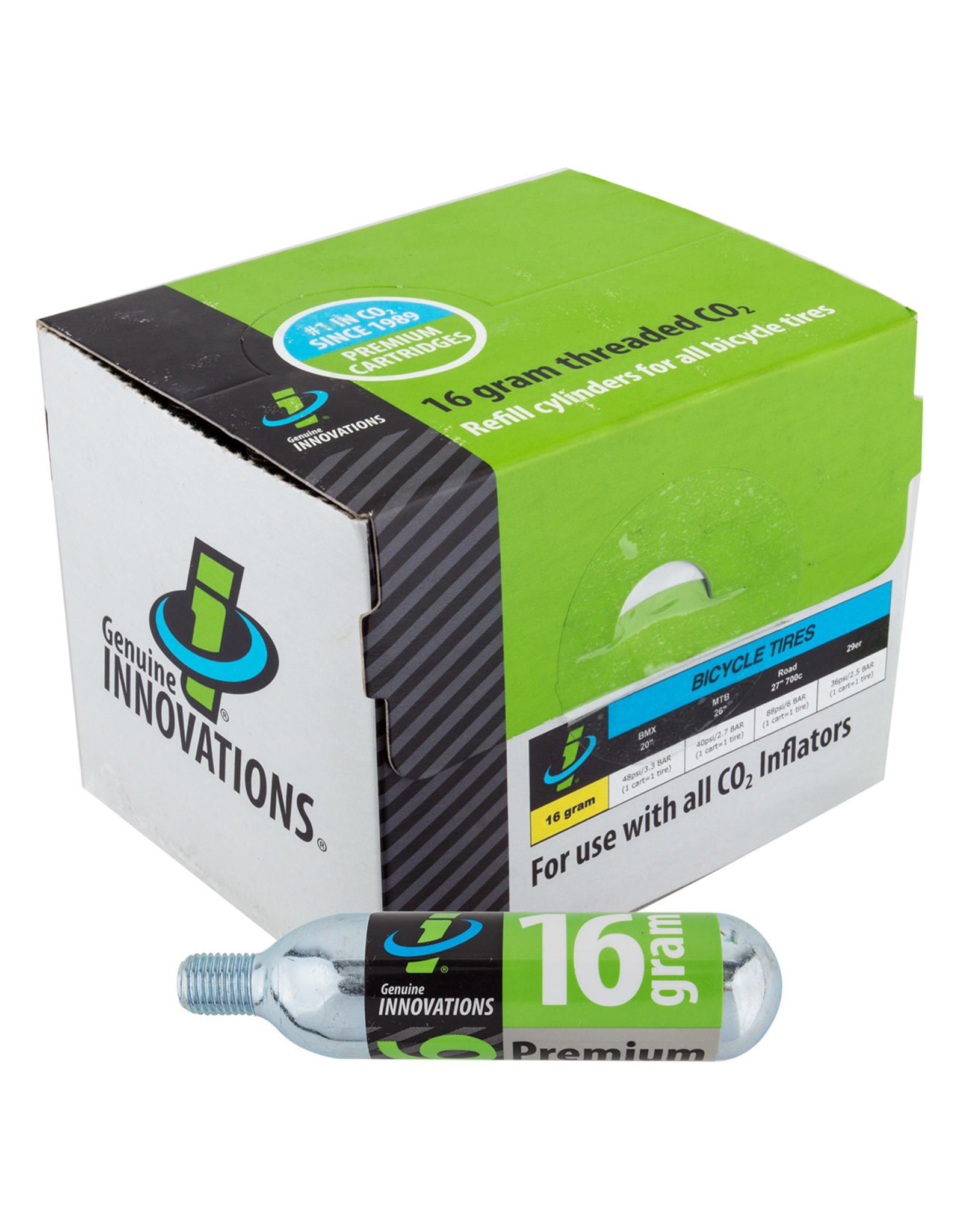 Pump Co2 16G Threaded Box of 270 single