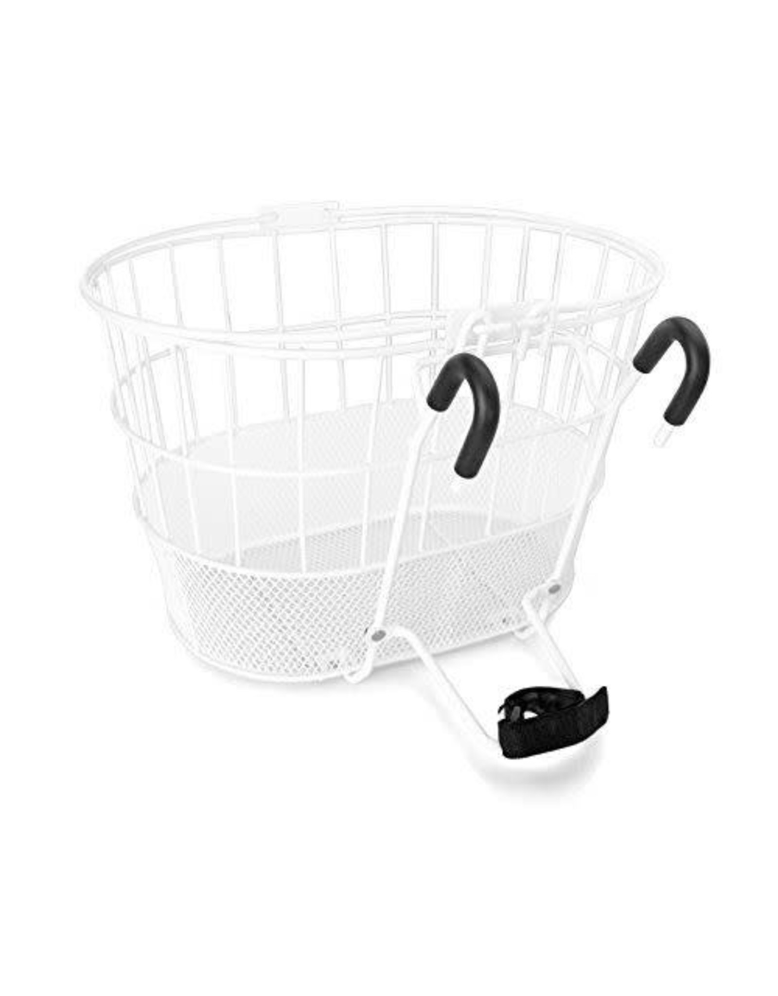 Sun Basket Ft Wire/Mesh Oval White Lift Off