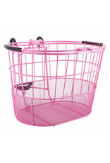 Sun Basket Ft Wire/Mesh Oval Pink Lift Off