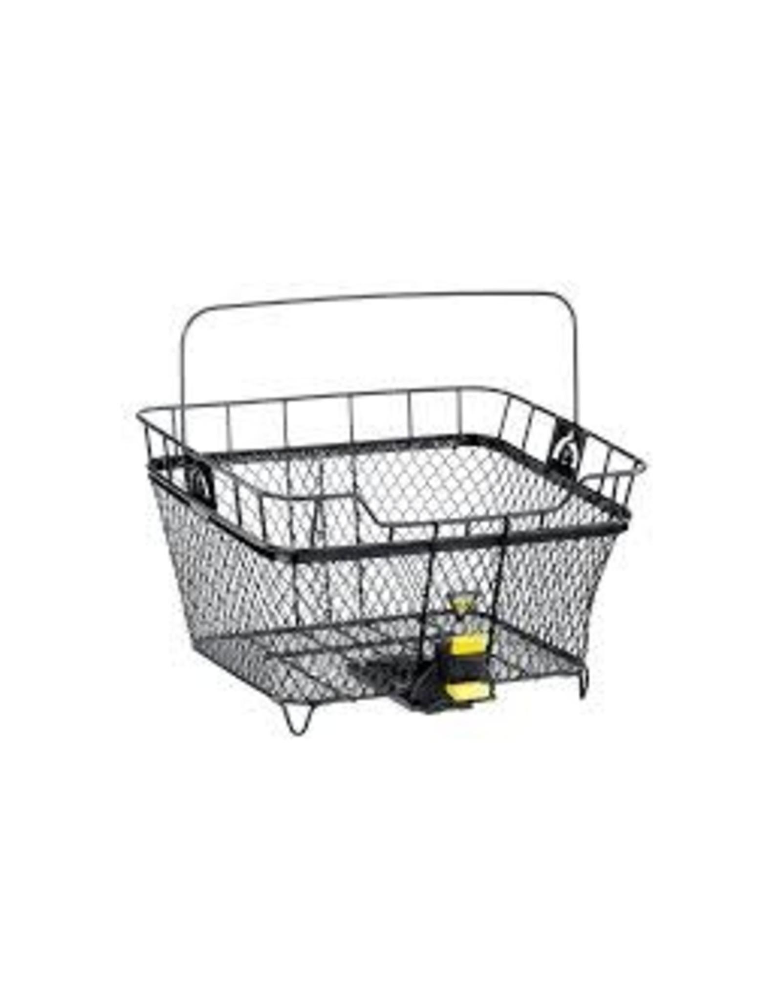 Topeak Basket Topeak Rear Blk w/QuickTrack mounting