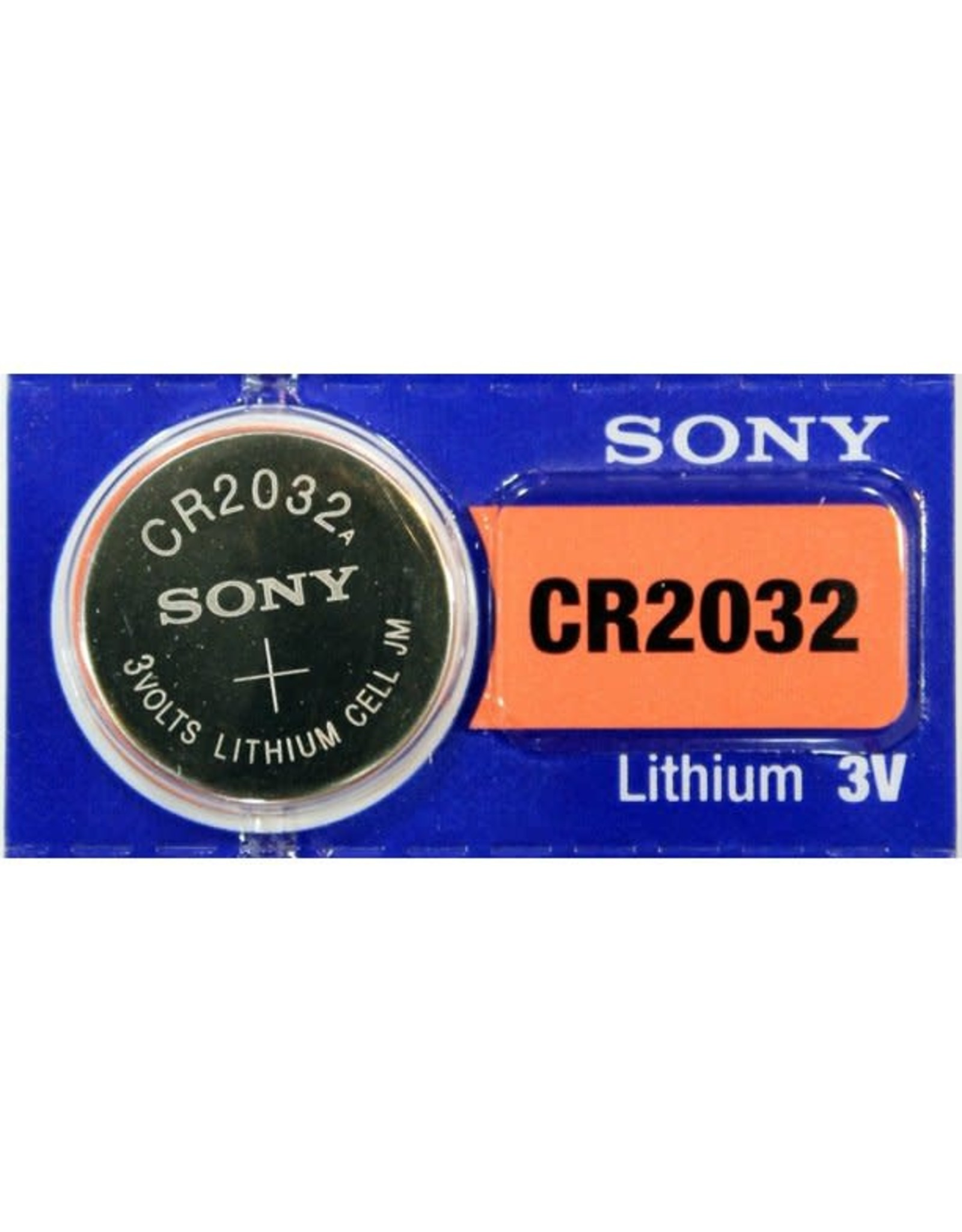 Sigma Comp Battery Sony CR2032 Single