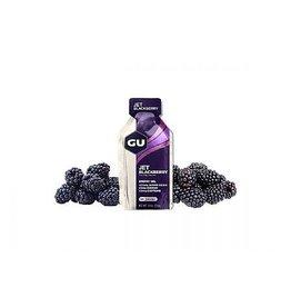 GU Energy Labs GU Energy Gel: Jet Blackberry Box of 24 single