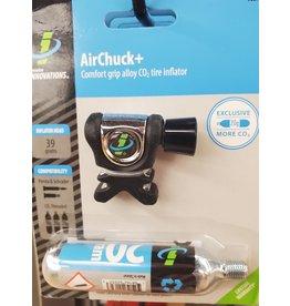Genuine Innovations Pump Co2 Innov Airchuck Plus  w/20g