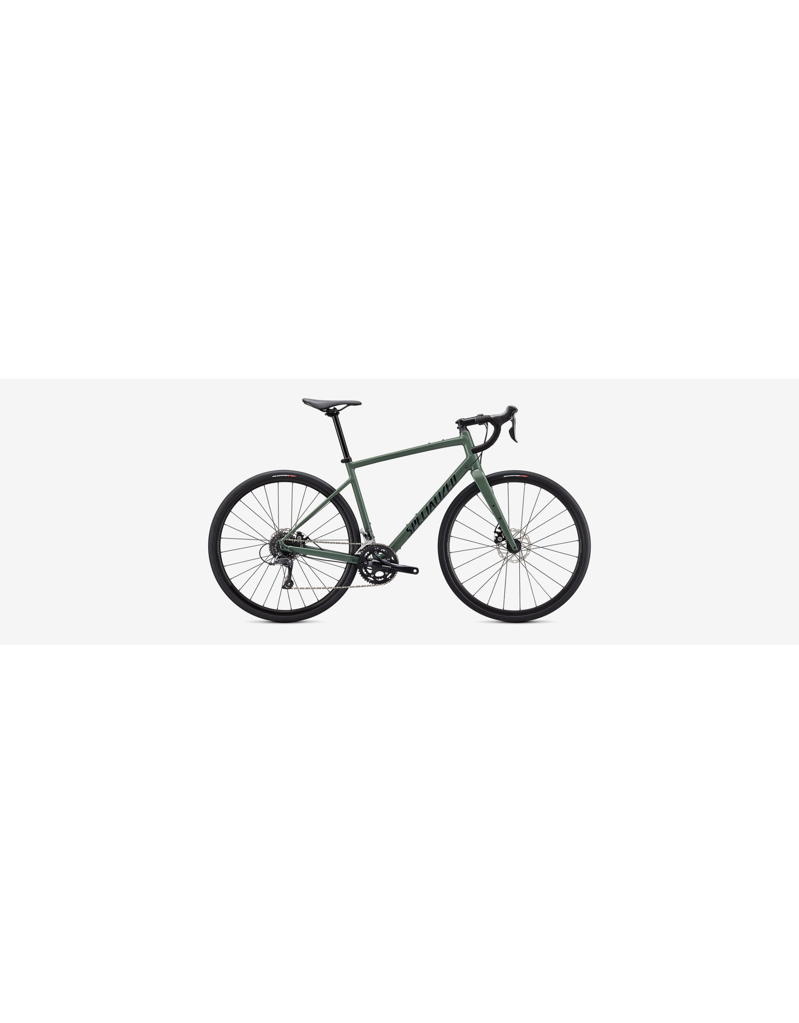 Specialized 21 Spec Diverge E5 SgeGrn/FstGrn/Chrm 56cm