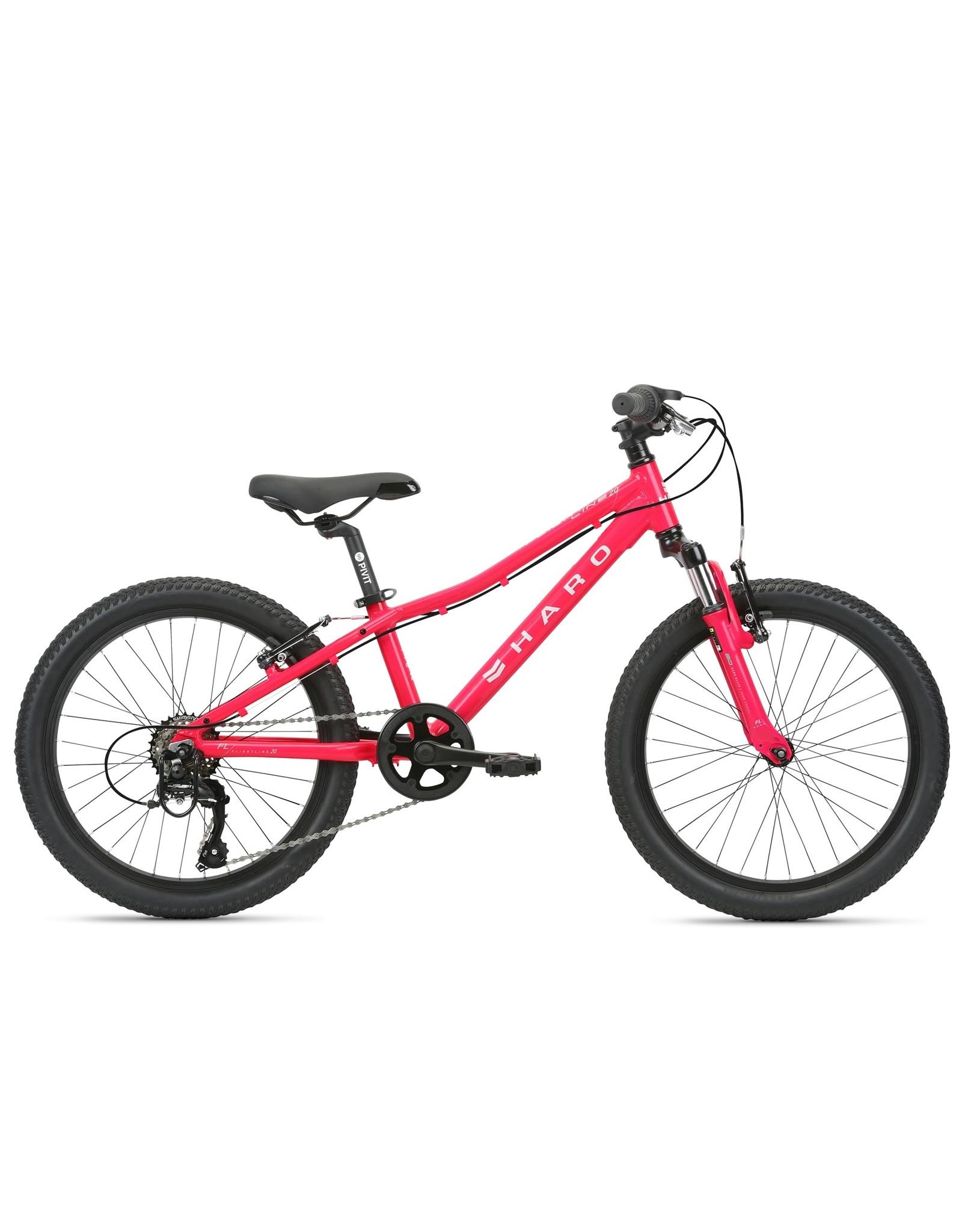Haro Bikes 21 Haro FL 20 Magenta/White