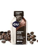 GU Energy Labs GU Energy Gel: Espresso Love, Box of 24 single