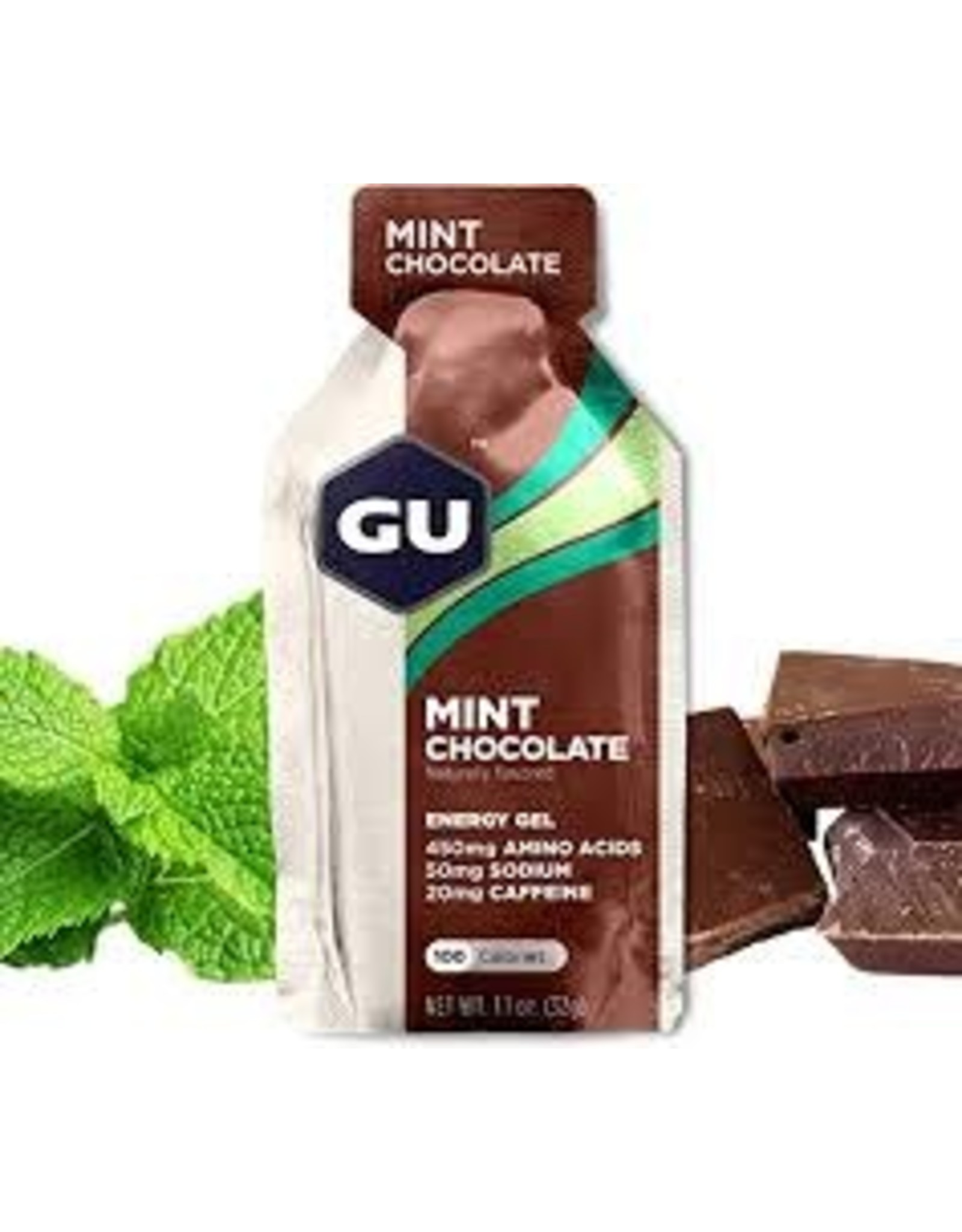 GU Energy Labs GU Gel Mint Chocolate Box 24 single
