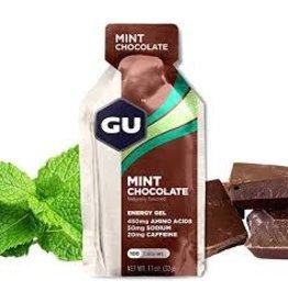 GU Energy Labs GU Gel Mint Chocolate Box 24 single