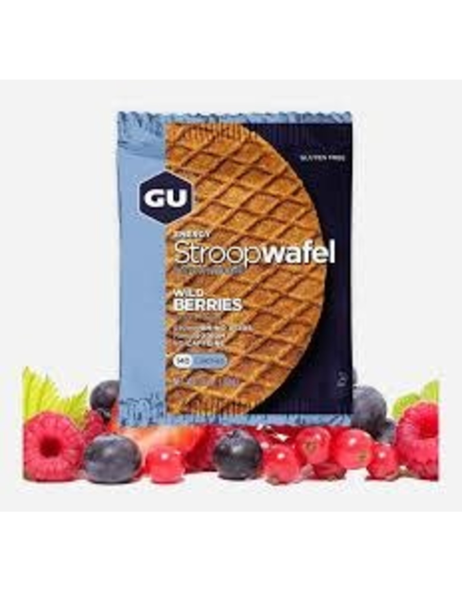 GU Waffle Wild Berries (GF) Box of 16 single