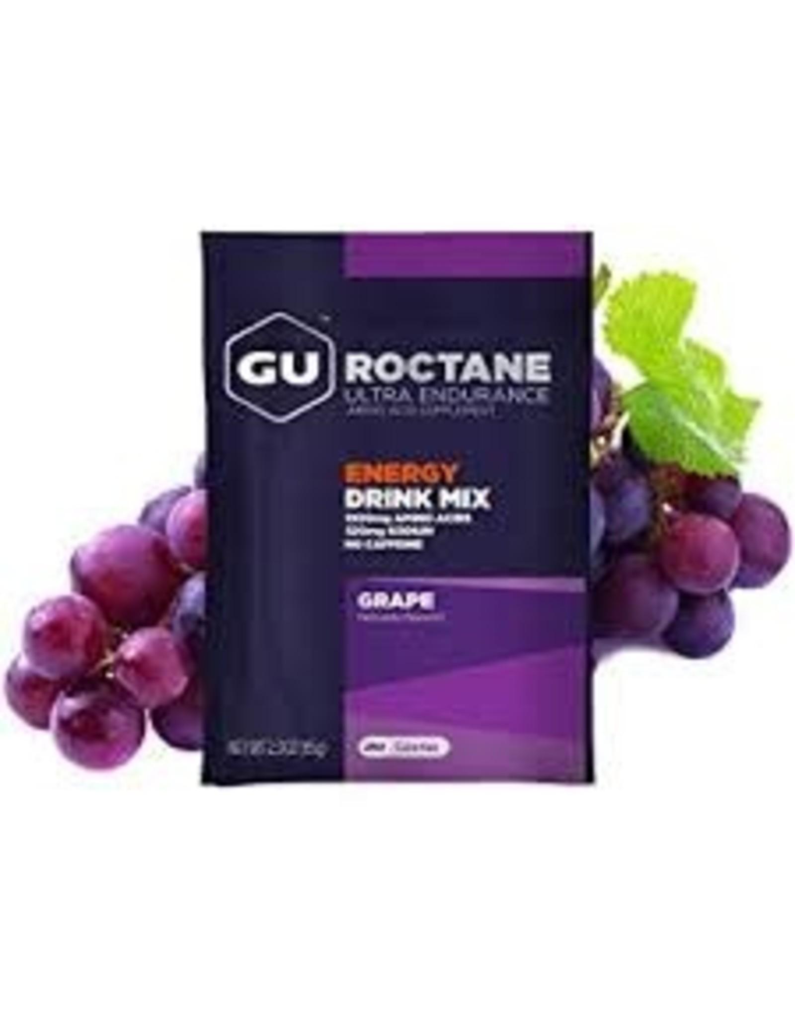 GU Energy Labs GU Roc Drink Grape Box of 10 single