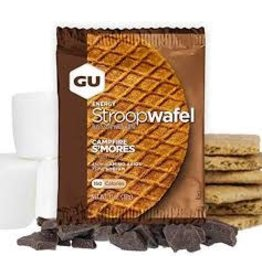 GU Waffles Campfire S'Mores Box of 16 single