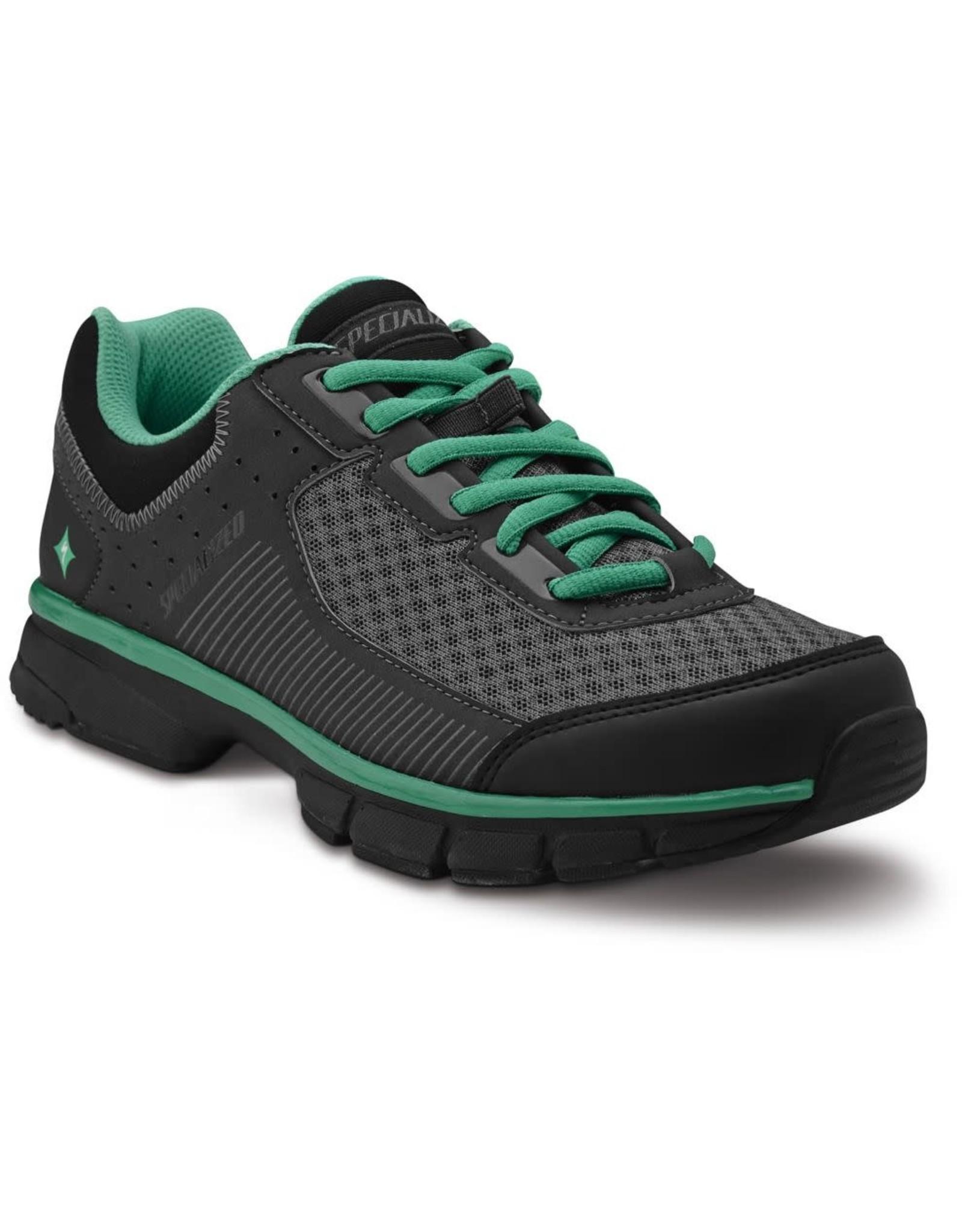 Specialized Shoe Spec Cadette Wmn Blk/Carb/Em Grn 41
