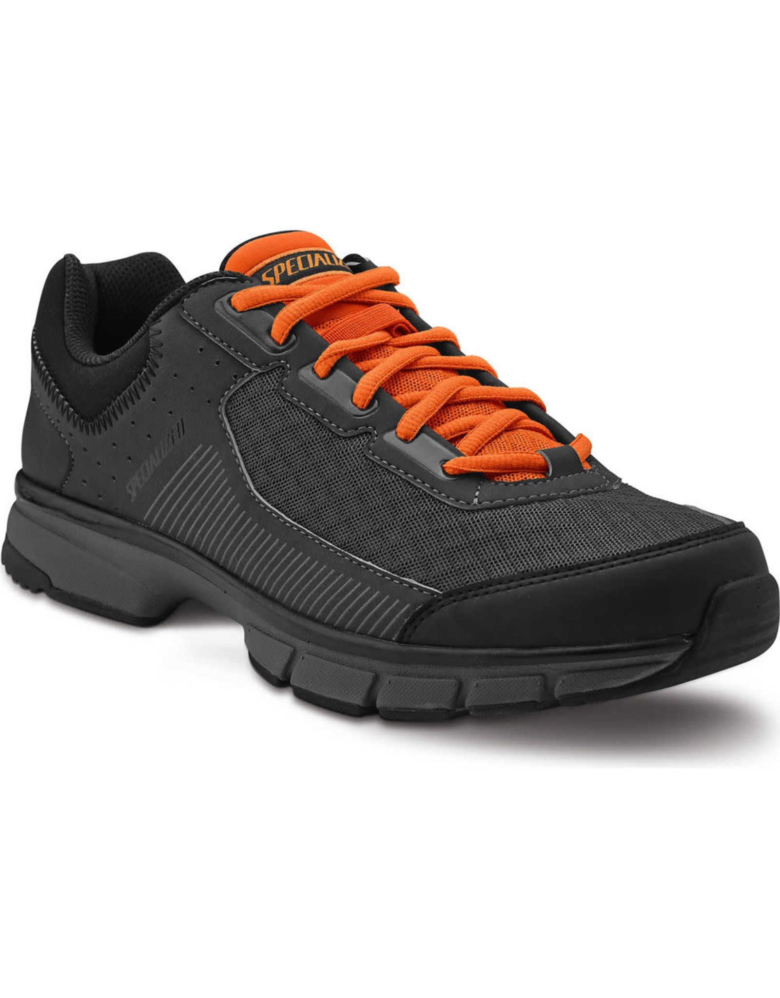 Specialized Shoe Spec Cadet Blk/Carb/Brt Org 45/11.5