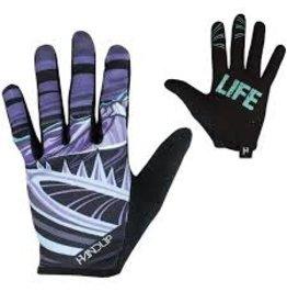 Glove Handup Mtn Life Teal/Grey Medium