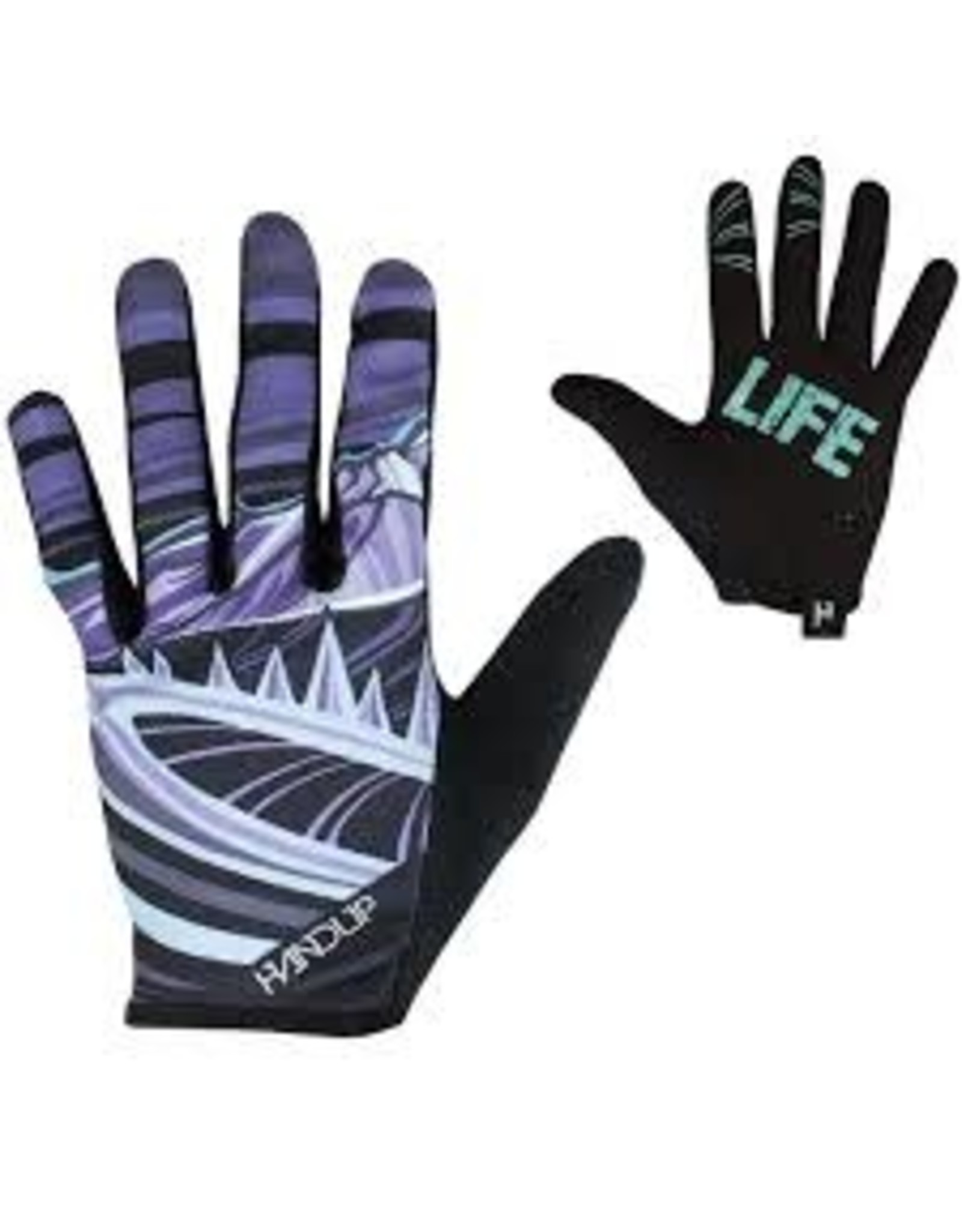 Glove Handup Mtn Life Purple/Teal XL