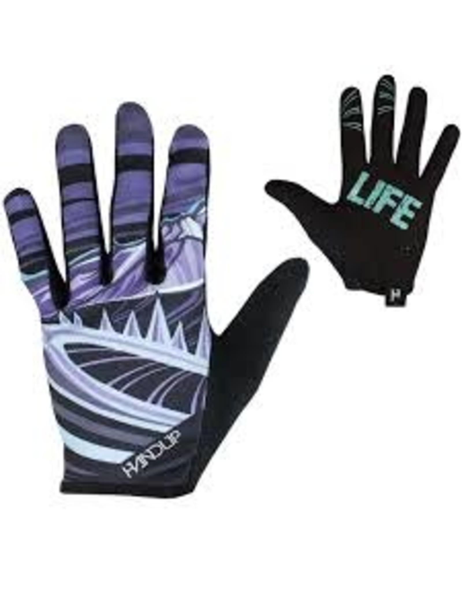 Glove Handup Mtn Life Purple/Teal Medium