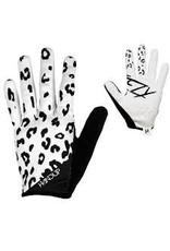 Glove Handup Steezy White Lepard Large
