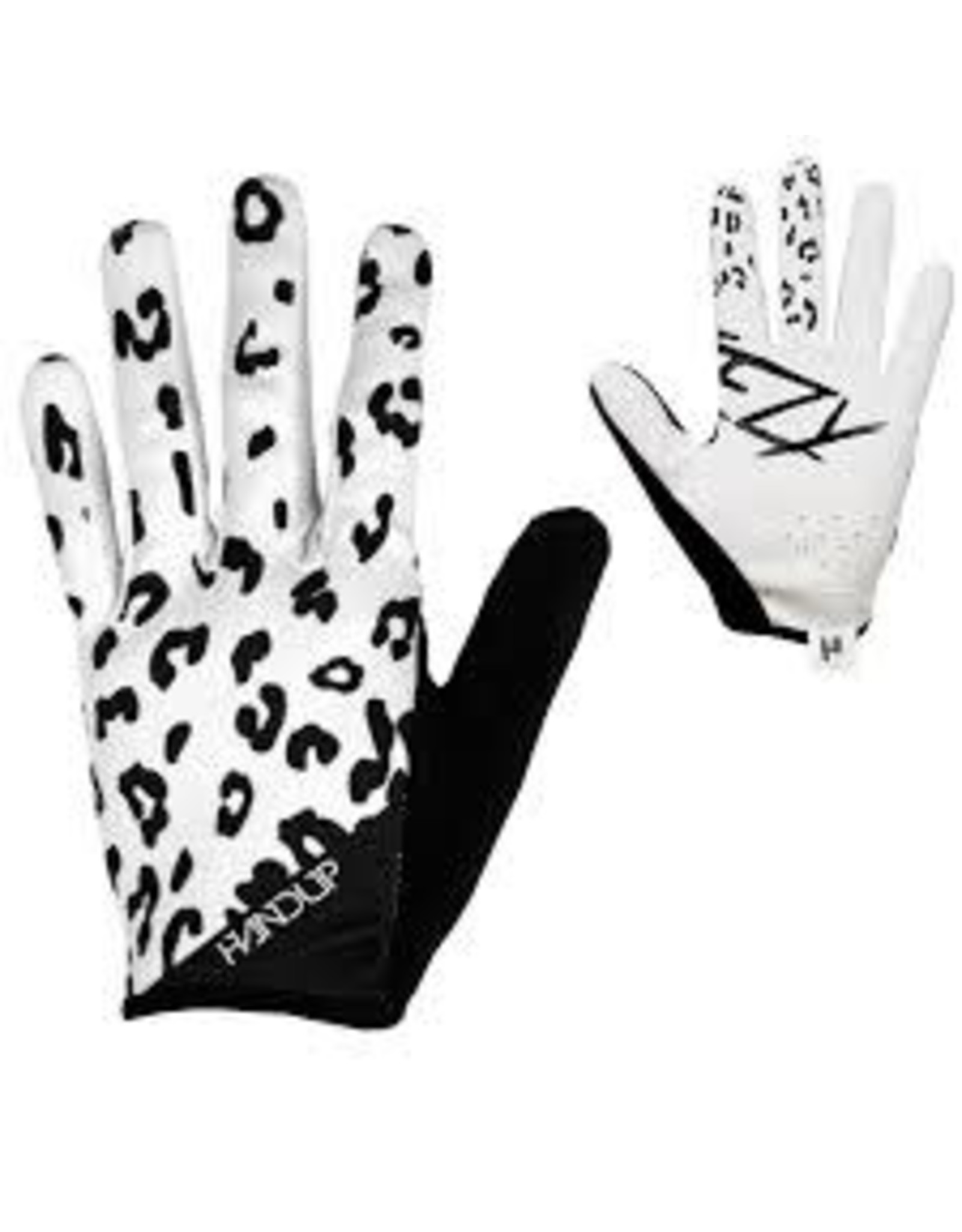 Glove Handup Steezy White Lepard Medium