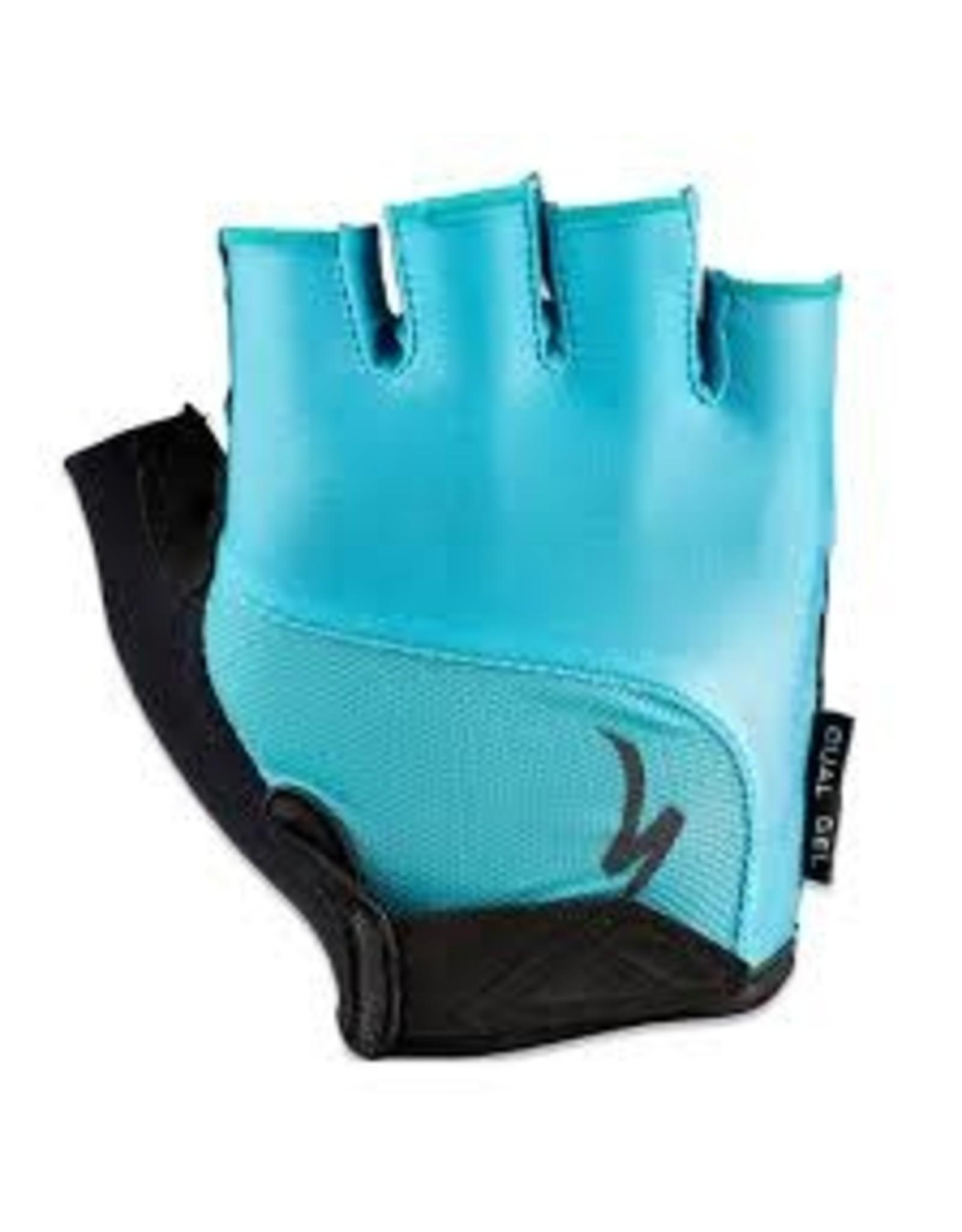 Specialized Glove Spec Dual Gel Wmn Aqua Large