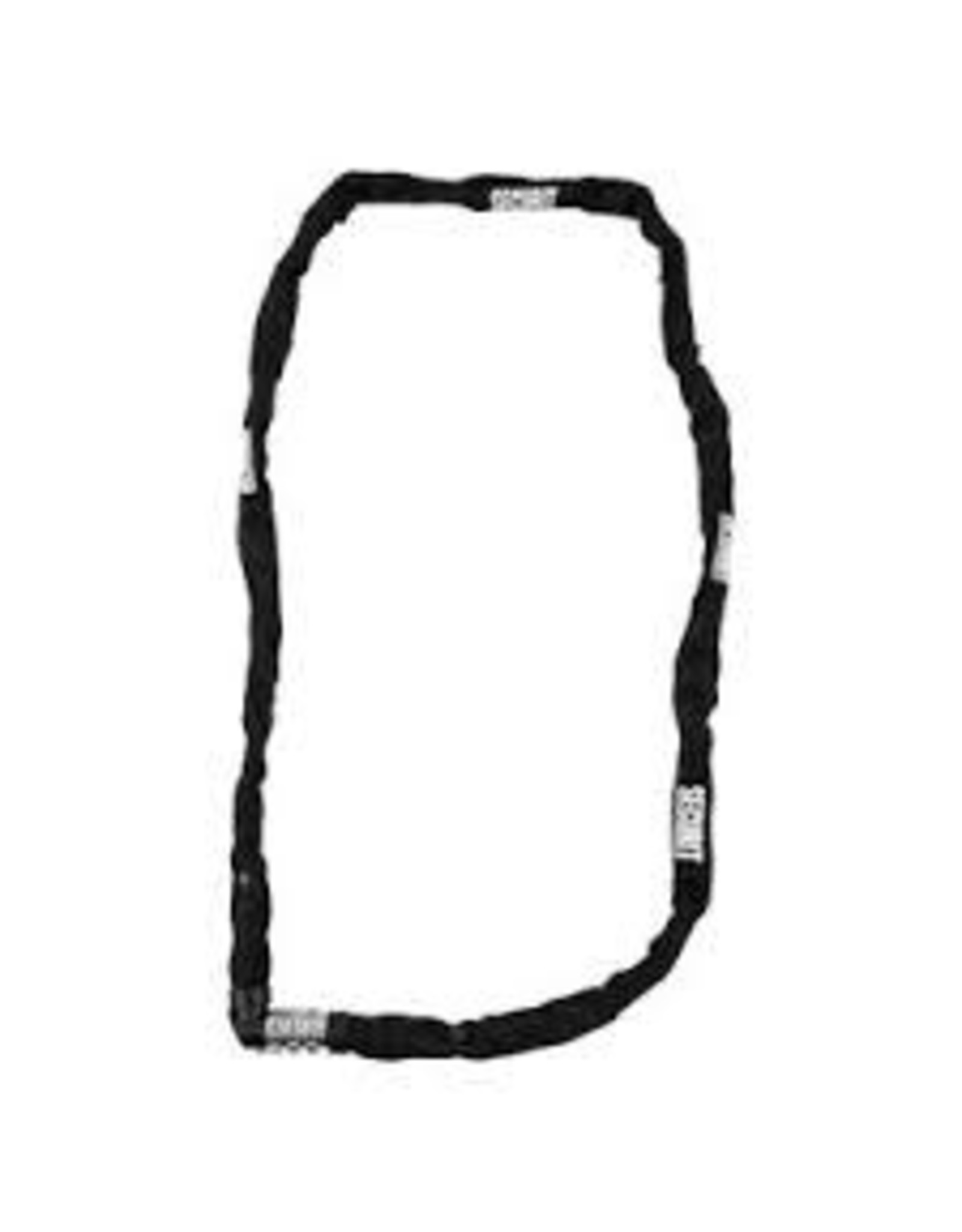 SECURIT Lock Jackie Chain Key 4x110cm Black
