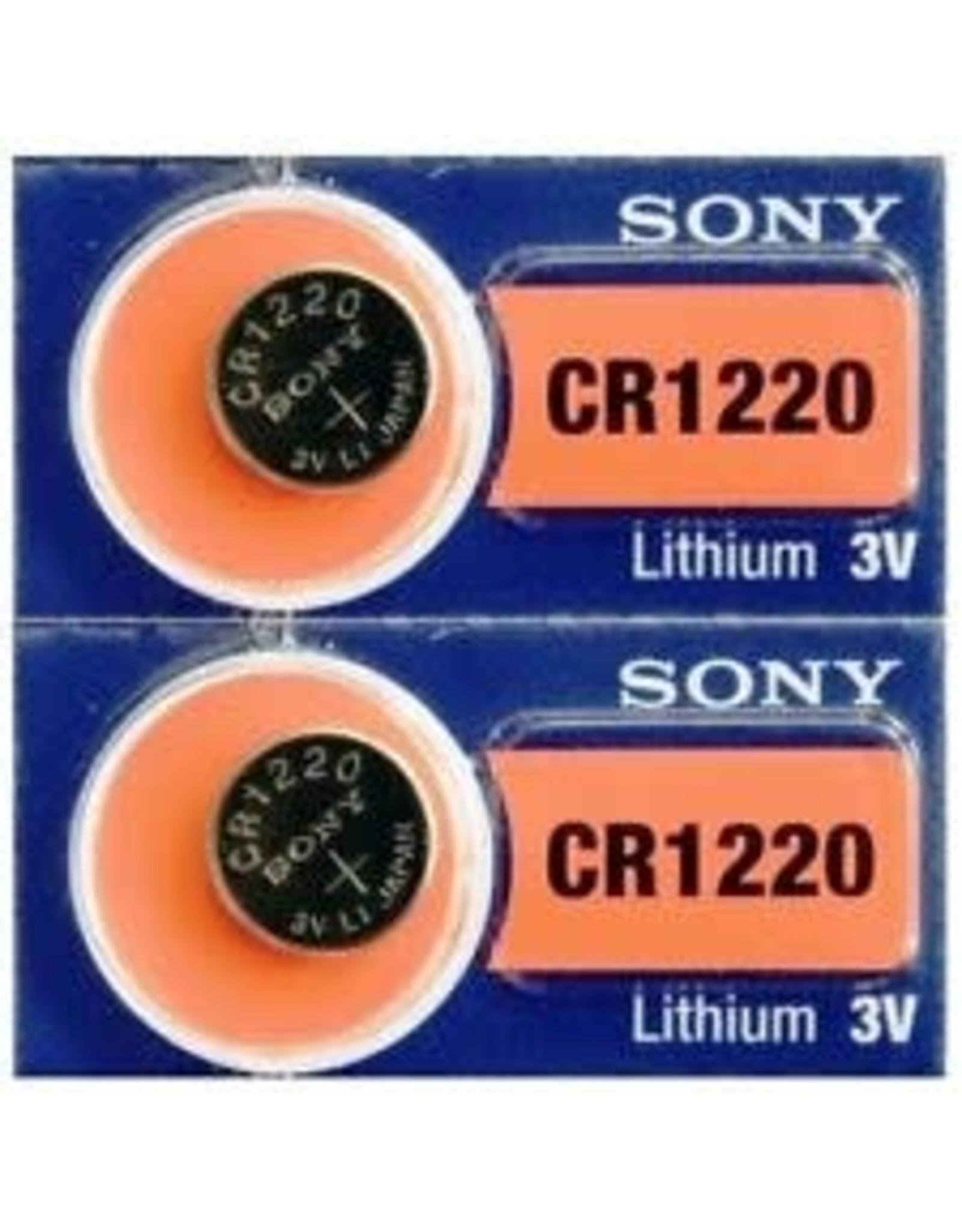 Battery CR1220 Sony Lithium 3V