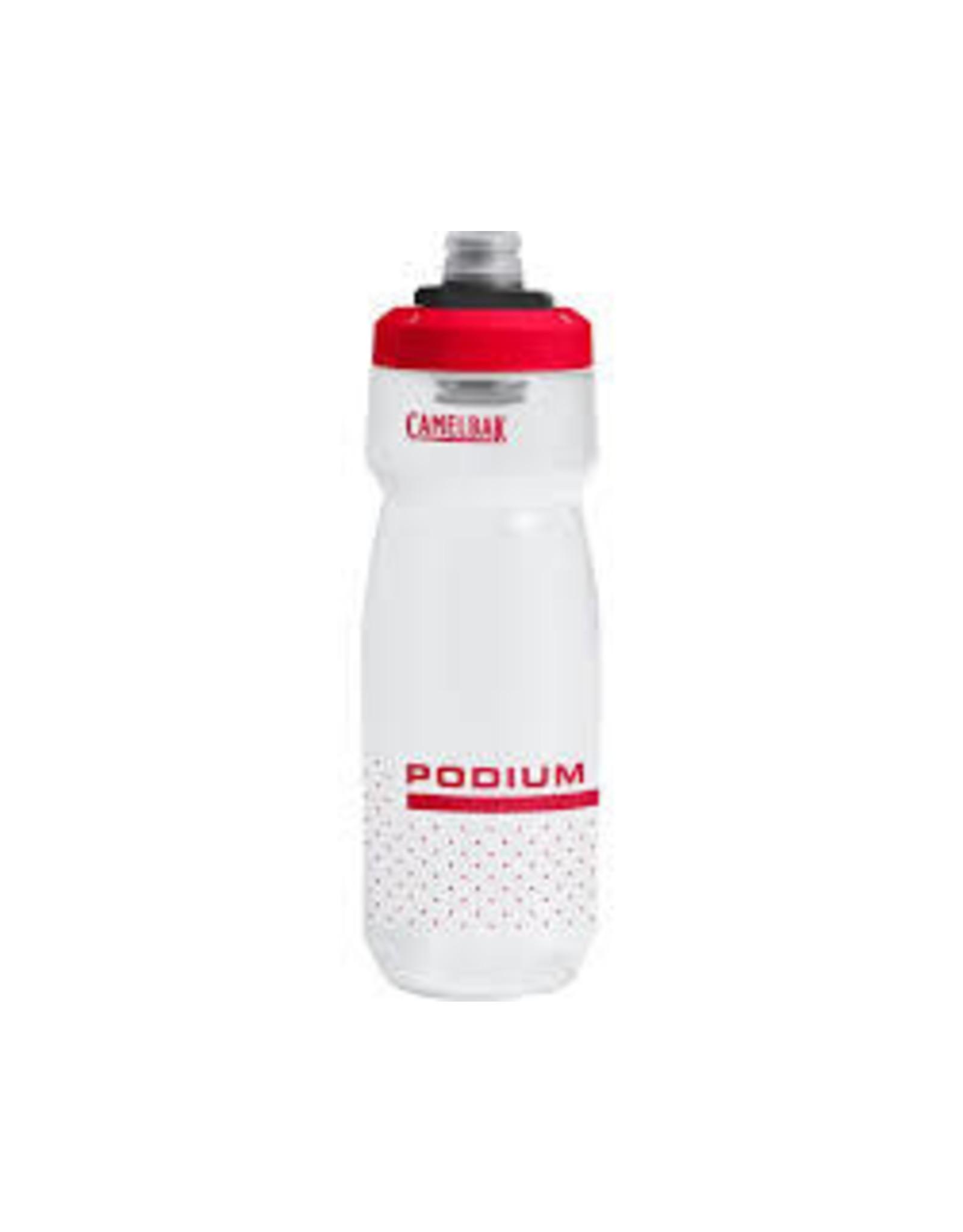 Bottle Camelbak Podium Chill 24oz, Fiery Red/White